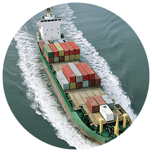 intermodal paper roll shipment
