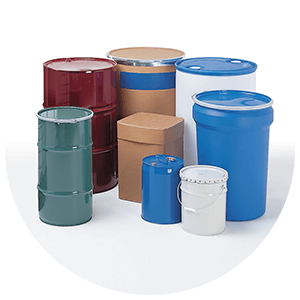 Filler Drums of varying sizes