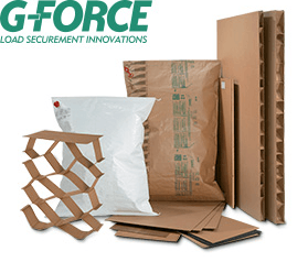 Variety of G-Force bags, braces, fill