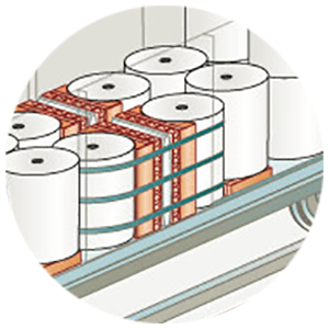 clipart of paper rolls and securement products
