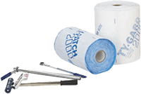 Ty-Gard Fabric Load Restraint rolls and tools